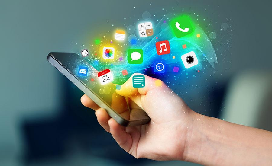 Contenido digital por aplicaciones móviles durante la pandemia 2020 Lluvia Digital
