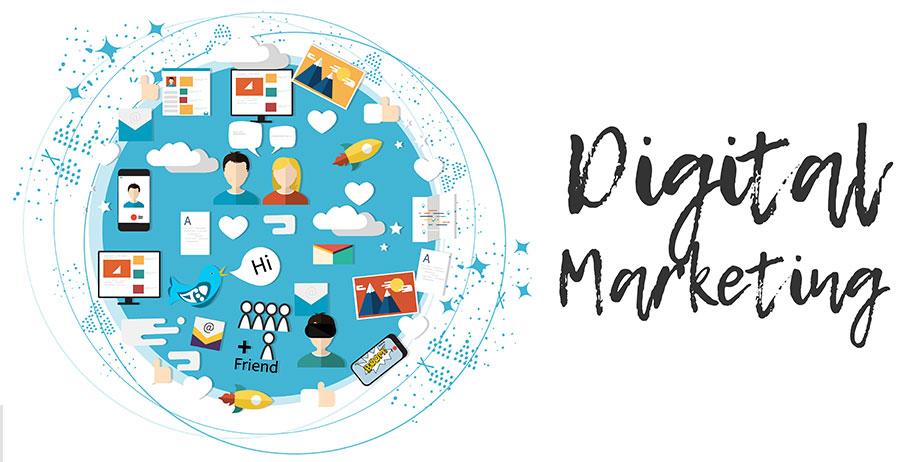 Las estrategias de marketing digital pospandemia son 360° integran todas las posibilidades de comunicación y venta Lluvia Digital.