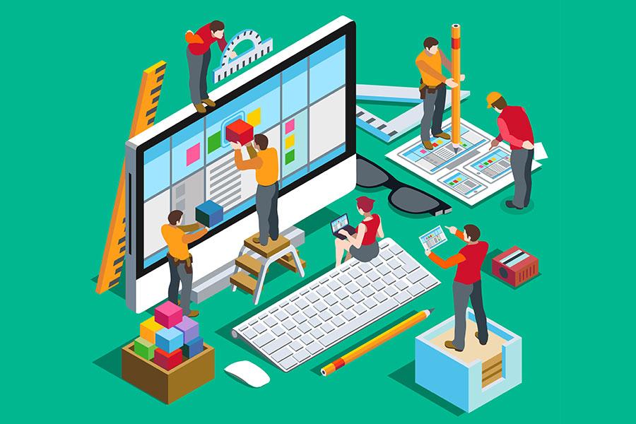 UX interacción del usuario con la página y la experiencia resultante Lluvia Digital