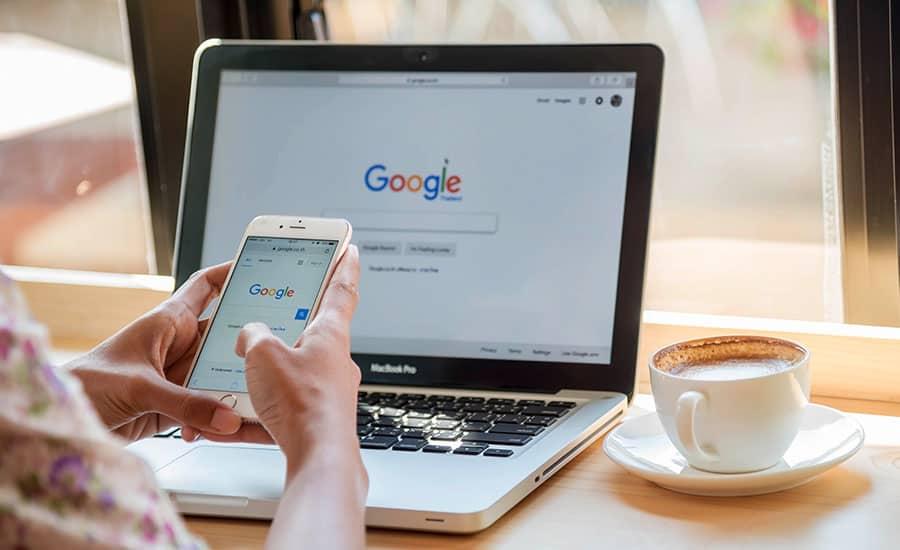 Google es el motor de búsqueda de Internet más grande del mundo Lluvia Digital