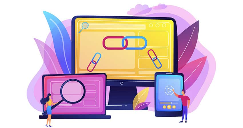 los backlinks eficientes son los que provienen de sitios confiables, útiles y relevantes