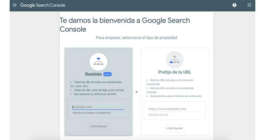 en Google Search Console se pueden verificar los backlinks