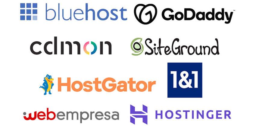 Algunos proveedores de hosting para crear un blog en WordPress