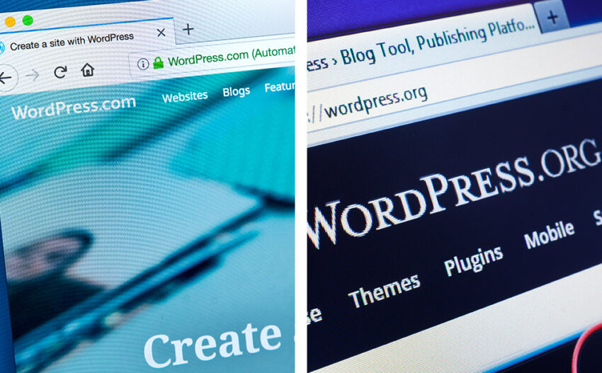 Diferencias entre WordPress.com y WordPress.org Lluvia Digital